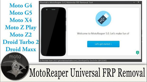 Motorola FRP Unlock Tool 2019 100% Tested Download Link
