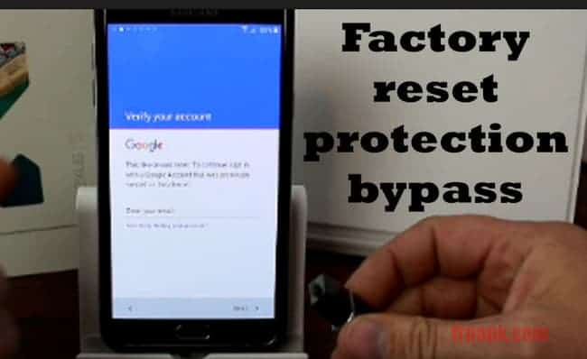Bypass Factory Reset Protection APK