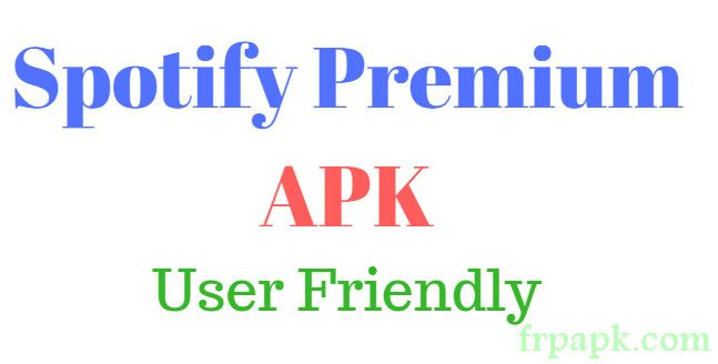 Spotify Premium APK User Friendly