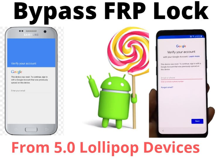 Bypass FRP Lock From Lollipop Devices